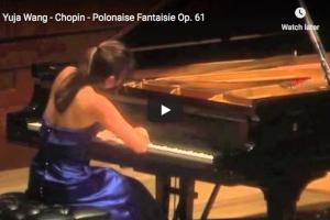 Chopin – Polonaise Fantaisie in A-Flat Major – Wang, Piano