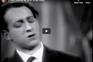 Chopin – Prelude No. 24 – Maurizio Pollini, Piano