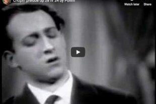 Chopin - Prelude No 24 in D minor - Pollini, Piano