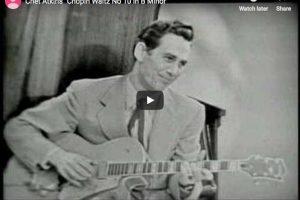 Chopin – Waltz No 10 in B Minor – Atkins, Guitar