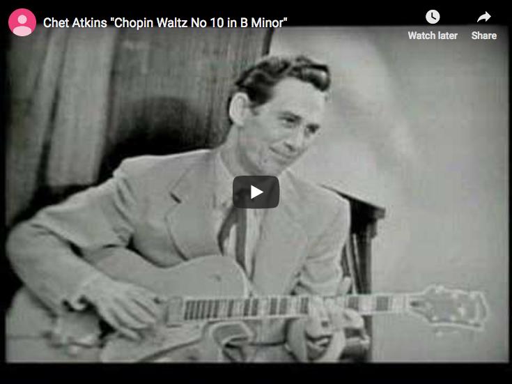 Chopin - Waltz No 10 in B Minor - Atkins, Guitar