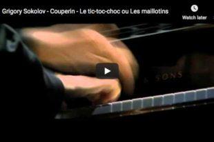 Couperin - Le tic-toc-choc ou Les maillotins - Sokolov, Piano