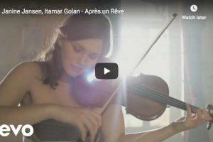 Fauré – Après un rêve (After a Dream) – Jansen,Violin – Golan, Piano
