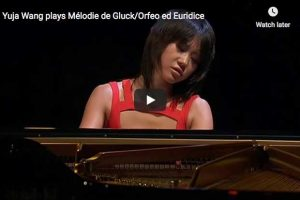 Gluck/Sgambati – Dance of the Blessed Spirits – Wang, Piano
