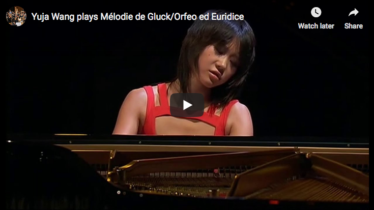 Gluck / Sgambati - Dance of the Blessed Spirits - Wang, Piano