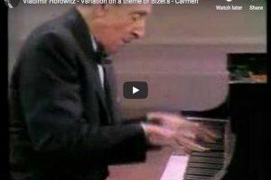 Horowitz – Carmen Variations – Horowitz, Piano