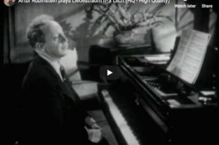 Liszt - Dreams of Love - Rubinstein, Piano