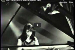 Liszt – La Leggierezza – Martha Argerich, Piano