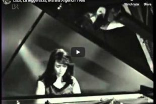 Liszt - La Leggierezza - Argerich, Piano