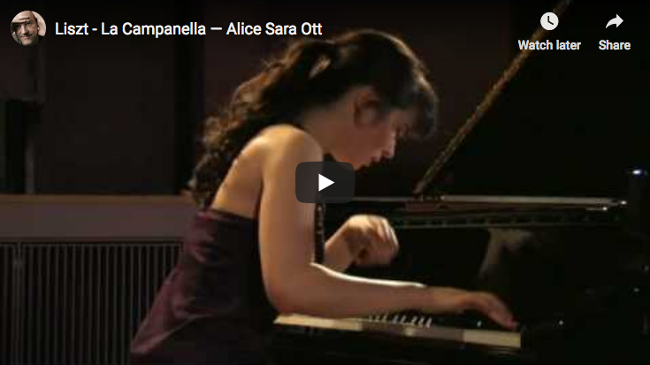 Liszt Paganini – La campanella – Ott, Piano