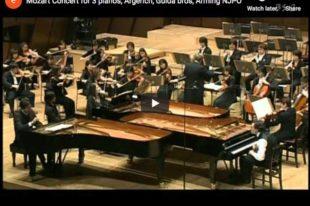 Mozart - Concerto for Three Pianos - Argerich, Paul & Rico Gulda
