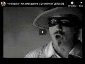 Dmitri Hvorostovsky sings Mozart's Aria from Don Giovanni, Fin ch'han dal vino