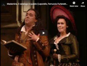 Ferruccio Furlanetto sings Mozart's aria Madamina, il catalogo è questo, from Don Giovanni Act I