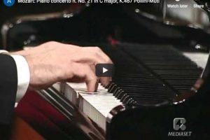 Mozart – Piano Concerto No 21 in C major – Pollini, Muti