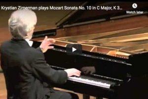 Mozart – Piano Sonata No. 10 – Krystian Zimerman