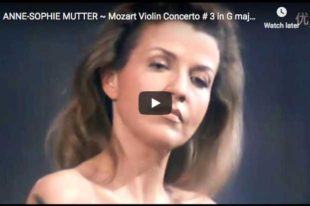 Mozart - Violin Concerto No. 3 in G major - Mutter