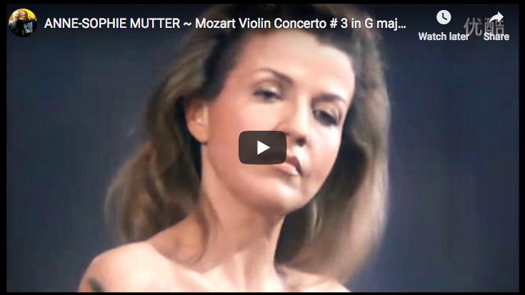 Mozart - Violin Concerto No. 3 in G major - Mutter
