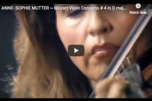 Mozart - Violin Concerto No 4 in D major - Mutter