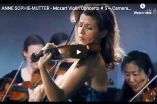 Mozart - Violin Concerto No 5 in A major, Turkish - Mutter
