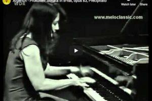 Prokofiev – Sonata No. 7, Precipitato – Argerich, Piano
