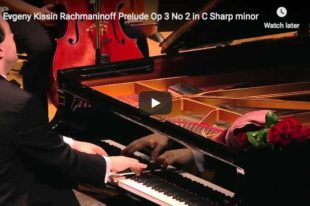 Rachmaninov - Prelude in C-Sharp Minor - Kissin, Piano