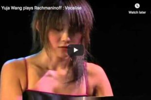 Rachmaninoff - Vocalise - Wang, Piano