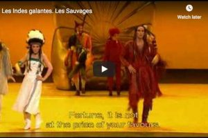 Rameau – Les Sauvages – Rivenq, Baryton ; Petibon, Soprano