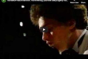 Rimsky-Korsakov (Rachmaninov) – Flight of the Bumblebee – Kissin, Piano