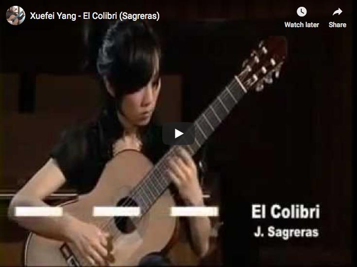 Sagreras - El Colibri - Yang, Guitar