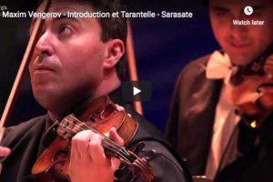Sarasate – Introduction et Tarantelle – Vengerov, Violin