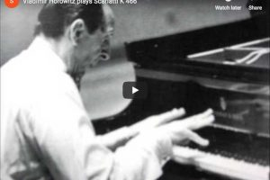 Scarlatti – Sonata K. 466 in F Minor – Horowitz, Piano