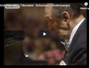 Vladimir Horowitz performs Träumerei, the 7th piece from Robert Schumann's Kinderszenen