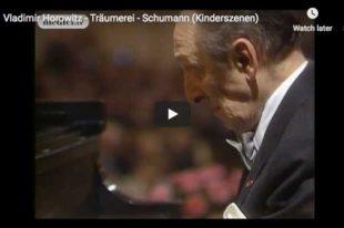 Schumann - Träumerei (Kinderszenen) - Horowitz, Piano