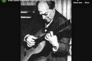 Villa-Lobos – Prelude No 1 – Villa-Lobos, Guitar