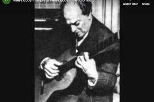 Villa-Lobos - Prelude No 1 - Villa-Lobos, Guitar