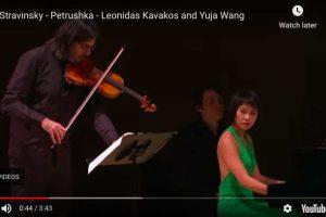 Stravinsky – Petrouchka, Russian Dance – Kavakos; Wang