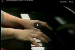 Ravel – Jeux d'eau in E Major – Argerich, Piano