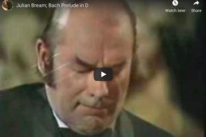 Bach – Prelude in D Major, BWV 1007 – Bream, Guitar