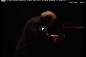Beethoven – Piano Sonata No. 17, Allegretto – Grigory Sokolov