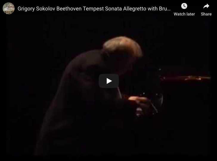 Beethoven - Sonata No 17 in D minor, 3rd movement - Sokolov, Piano