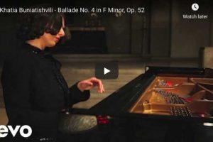Chopin – Ballade No. 4 – Buniatishvili, Piano