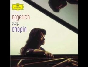 The pianist Martha Argerich is playing Chopin's Ballade No 1 in G minor