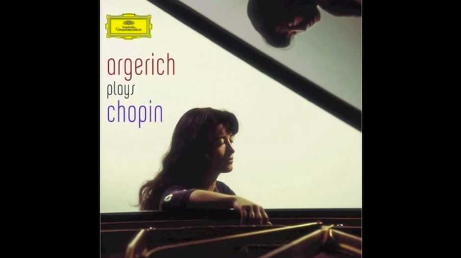 The pianist Martha Argerich is playing Chopin's 1st Ballade in G minor