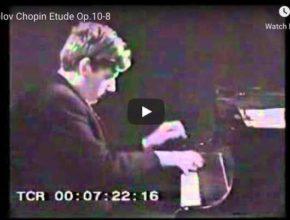 Chopin - Étude Op 10 No 8 in F Major - Sokolov, Piano