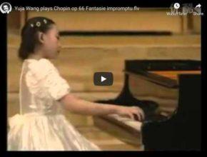 Chopin - Fantaisie-Impromptu in C-Sharp Minor - Yuja Wang, Piano