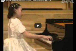 Chopin – Fantaisie-Impromptu – Wang, Piano