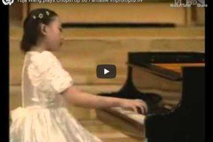 Chopin - Fantaisie-Impromptu - Wang, Piano