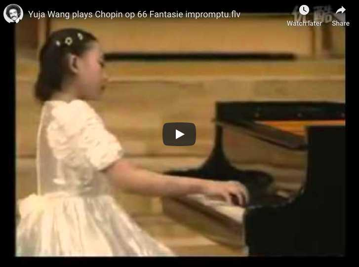 Chopin - Fantaisie-Impromptu in C-Sharp Minor - Yuja Wang, Piano