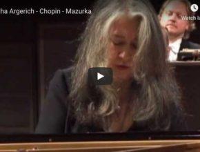 Chopin - Mazurka in C major Op. 24 No 2 - Argerich, Piano