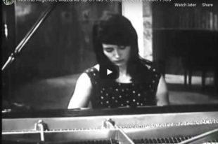 Chopin - Mazurka Op. 59 No. 1 - Argerich, Piano